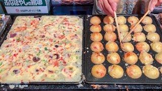 Japanese Street Food - TAKOYAKI  たこ焼き