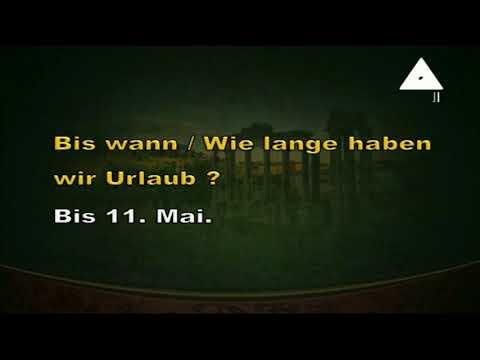 لغة ألمانية 3 ثانوي 06-03-2019