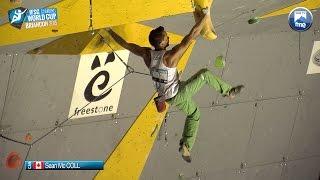 Escalade - Coupe du monde de Briançon 2015