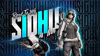 PUBG MOBILE LIVE CONQUEROR PLAYERS | LIVE RANK PUSH  | CLAWSIDHUYT