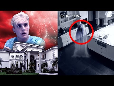 We Caught a REAL Ghost On Camera in our House.. (SCARY)