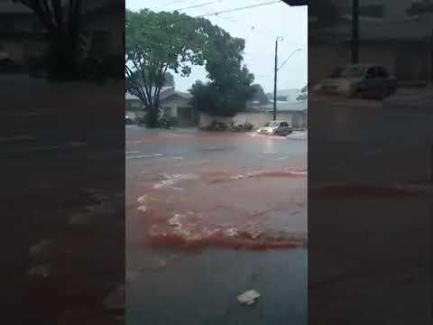 chuva na marechal Deodoro em altonia