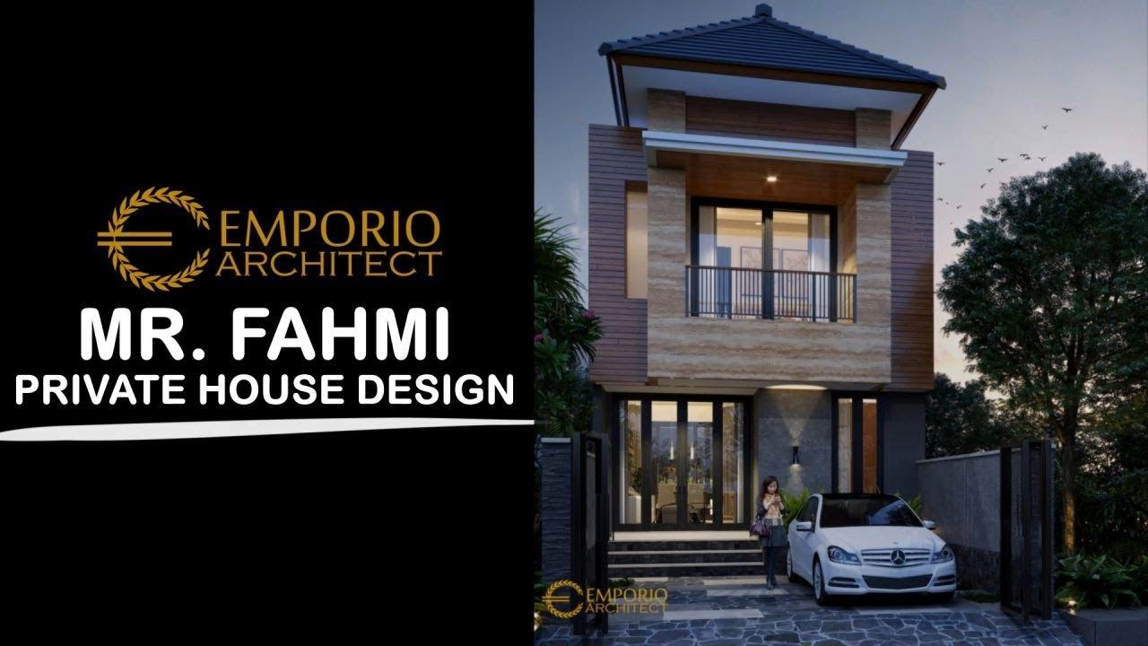 Video 3D Desain Rumah Modern 2 Lantai Bapak Fahmi - Jakarta Timur