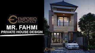 Video Mr. Fahmi Modern House 2 Floors Design - Jakarta Timur