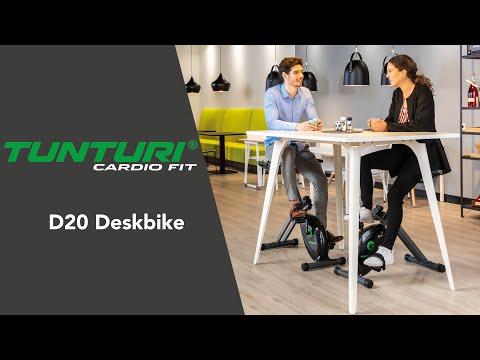 Promovideo: Rotoped TUNTURI Cardio Fit D20 Deskbike