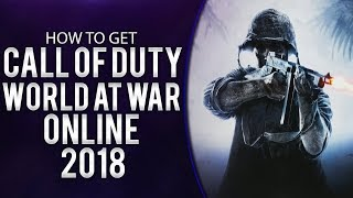 How To Play Call of Duty : World At War Multiplayer/Zombies/SinglePlayer + DLC - 2017
