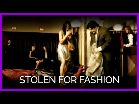 Stolen for Fashion – PETA – Starring Pink and Ricky Gervais
