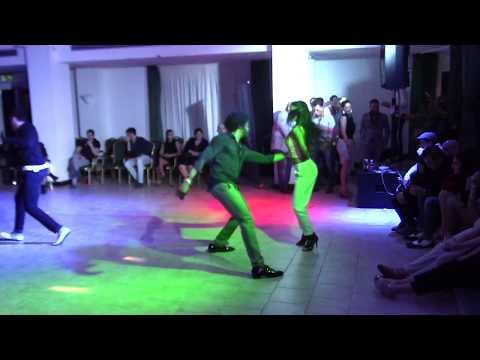 Terry SalsAlianza and Busra Araci :: Social Salsa dancing Que Locura Enamorarme de Ti @ All-In Dance