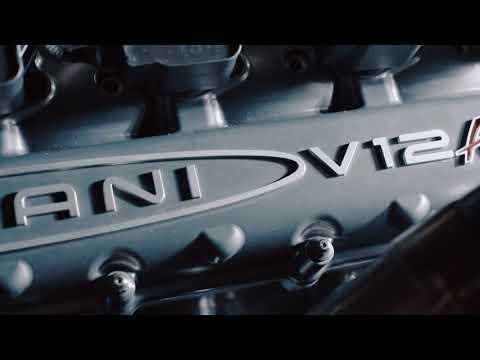 パガーニウアイラRに搭載されるV12エンジンサウンドが心に響きわたるエンジンサウンド動画を公開