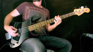 The Doors - I can't see your face in my mind (Bass Cover)