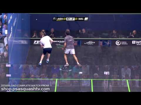 Squash : Is this Ramy's best single game of squash ever?