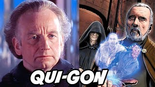 Palpatine Asks Dooku About Qui-Gon's Death - Star Wars Explained
