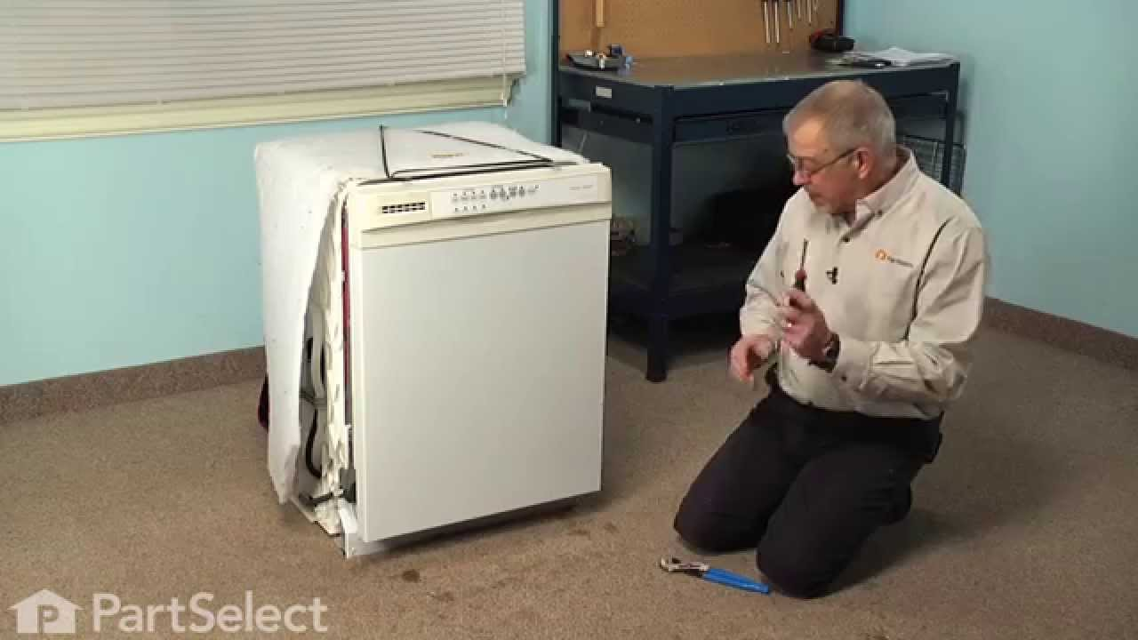 Replacing your Kenmore Dishwasher Drain Hose