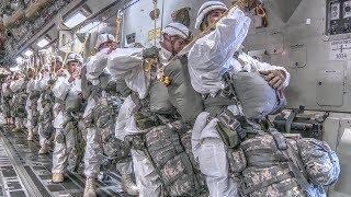 Arctic Drop: Airborne Soldiers & Heavy Cargo Drop Exercise