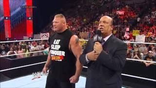 Paul Heyman's Epic Hip Hop Moment for John Cena.
