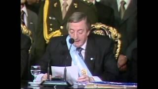 25 De Mayo De 2003 Asunción De Néstor Kirchner A La Presidencia De La Nación