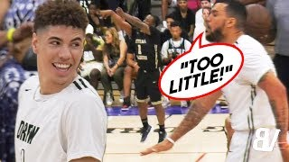 """""""TOO LITTLE"""" Player LIGHTS OUT After LaMelo's Teammate TRASH TALKS HIM! + LaMelo One-Handed OOP!"""