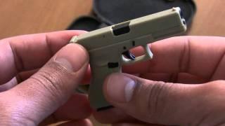 Mini Glock 17 1/3 Pistol (HD)