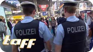 JUNKIES am HAUPTBAHNHOF: Unterwegs mit der Bundespolizei | taff | ProSieben
