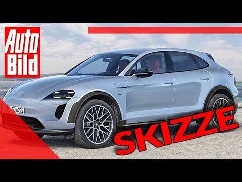 Porsche Macan (2021): Auto - Neuvorstellung - Skizze - SUV - Elektro - Infos