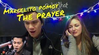 Marcelito Pomoy - The Prayer (Celine Dion) Wish 107.5 Bus REACTION