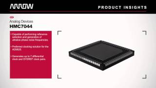 Arrow Product Insights - Analog Devices AD9625, HMC7044, and ADA4961