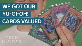 We Got Our Childhood Yu-Gi-Oh! Cards Valued