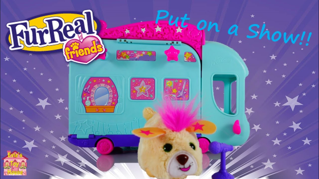 Zoomin' Stage Furry Frenzies by FurReal Friends Review | Evies Toy House
