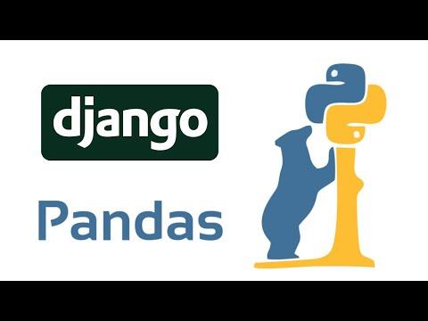 How To Use Python Pandas in Django thumbnail
