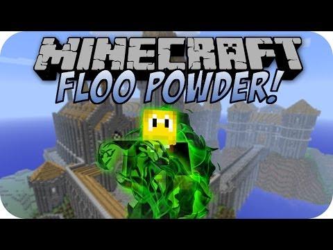 Minecraft FLOO POWDER MOD [Deutsch]