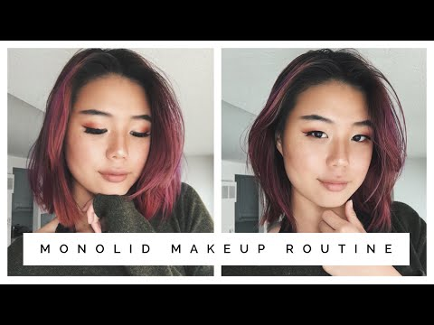 HOW TO: Monolid Makeup Routine