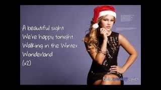 Winter Wonderland - Olivia Holt (Lyrics Video)