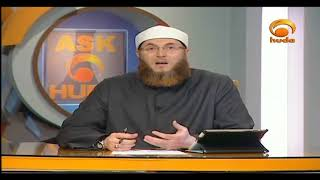 The Shaytaan whispers to him to make him imagine a form for Allah  #HUDATV