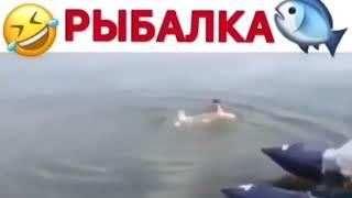 Рыбак поймал Рыбку