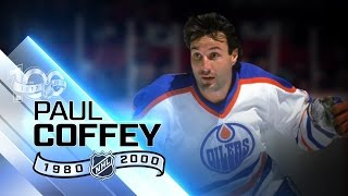 Paul Coffey is one of three D-men to score 40 goals