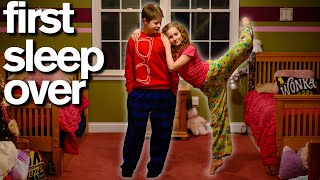 My Son's First Sleepover With His Crush *SWEET*