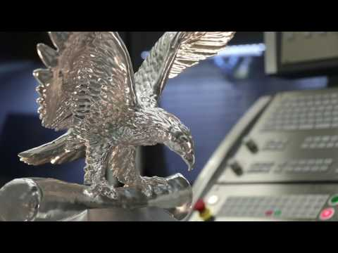 High Speed Eagle V9: 5 axis milling of the OPS-INGERSOLL Eagle