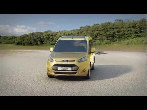 Ford  Tourneo  Connect Минивен класса M - рекламное видео 1