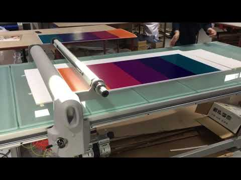 Smart Table Flatbed Lamination
