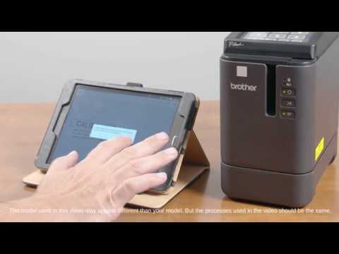 Brother PT-P900W Industrial Desktop Label Printer with Wireless Connectivity