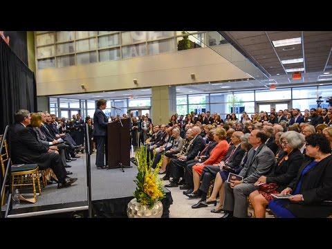 Dedication of the Antonin Scalia Law School in Arlington, Virginia