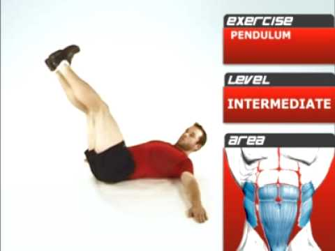 Pendulum Exercise for Abs