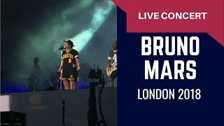 Bruno Mars In London 2018