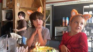 Ivan is seven! Happy birthday!