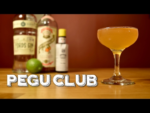 Pegu Club – How to Make the Classic Gin Cocktail