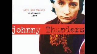 Johnny Thunders - You Cant Put Your Arms Around A Memory (live\acoustic)