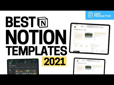 Best 8+ Notion Templates for 2021