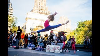 Ballerina Crashes NYC Street Performance in 10 Minute Photo Challenge