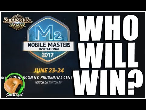 SUMMONERS WAR : Who Will Win MOBILE MASTERS?