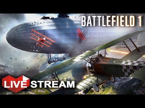 Battlefield 1 Gameplay | Intense All-out War | Livestream (60fps)
